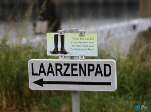 Het Laarzenpad: Centrum Middelharnis steeds aantrekkelijker!