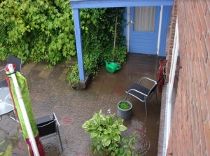 [Update reactie gemeente] Veel wateroverlast op Goeree-Overflakkee